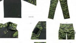 画像:投稿「SILVER TIGER入荷しました♪ VOLK オリジナルコンバットシャツ&コンバットパンツ」のサムネイル画像
