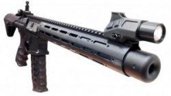画像:投稿「M4系のレールハンドガードに直付け!! アイアンサイト付きAR15フラッシュライト入荷♡」のサムネイル画像