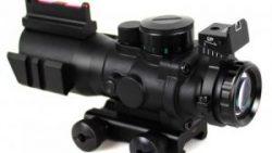 画像:投稿「視野も広く、キレイに見える AIM-JTDFO432G タイプ 4×32 スコープ」のサムネイル画像