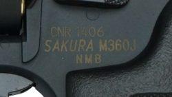 """画像:投稿「ついにガスガンで登場 S&W M360J """"SAKURA"""" ただいま予約受付中」のサムネイル画像"""