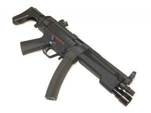 BOLT MP5対応フラッシュライト付きハンドガード2