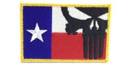 画像:投稿「米軍放出品☆パニッシャー&テキサス パッチ」のサムネイル画像