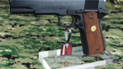 画像:投稿「SAA ハンドガン用アクリルガンスタンド シングルカラムタイプ」のサムネイル画像