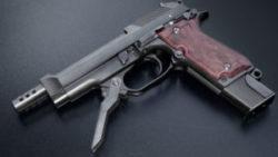 画像:投稿「シャープな金属感に溢れるM93R 入荷しました♡」のサムネイル画像