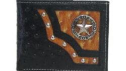 画像:投稿「Genuine Leather Star Concho Bi-fold Wallet」のサムネイル画像