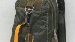 画像:投稿「戦闘機のサイドに見られるペイントの雰囲気の文字をプリントしたステンシル ナイロンリュック 入荷♡」のサムネイル画像